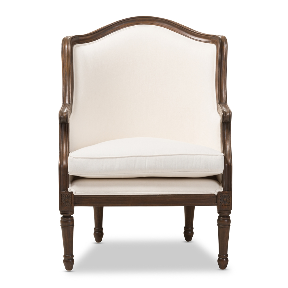 Baxton Studio Charlemagne Traditional French Accent Chair Ie292mi Ash2