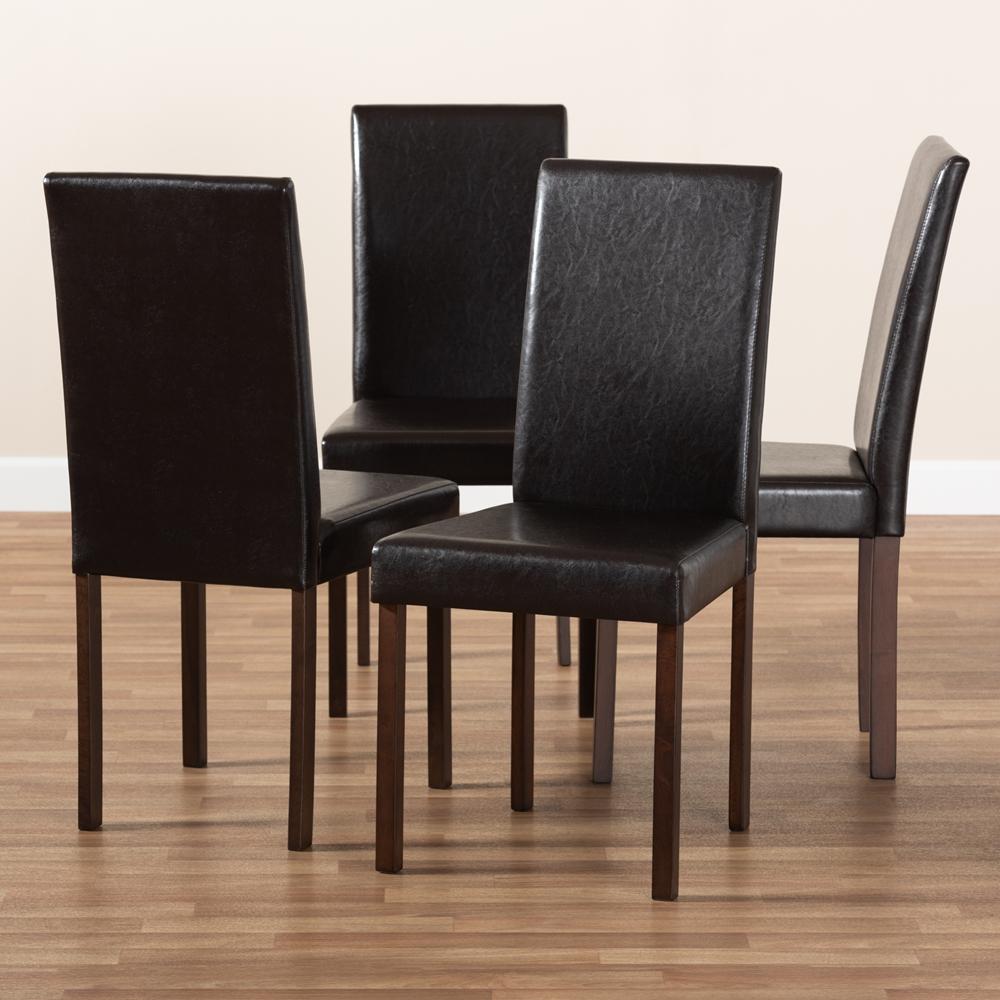 Baxton Studio Andrew Modern Dining Chair Set Of 2