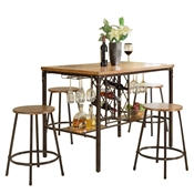 Baxton Studio Vintner Pub Set Baxton Studio Vintner Pub Set, Dining Room Furniture