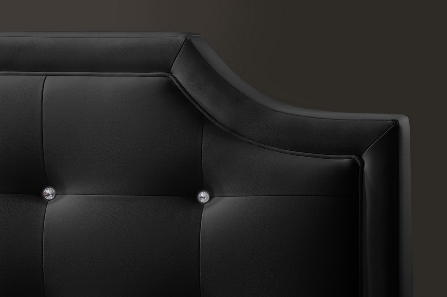 black headboard full size  desireofnations, Headboard designs