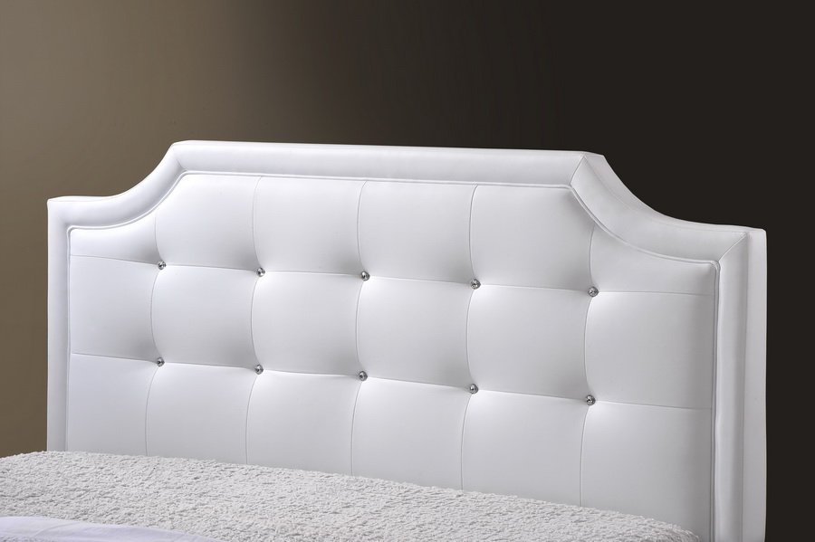 white headboard king size  clandestin, Headboard designs