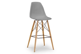 Baxton Studio Azzo Gray Plastic Mid-Century Modern Shell Stool  Azzo Gray Plastic Mid-Century Modern Shell Stool, BS-231A(B)-Gray, compare  Azzo Gray Plastic Mid-Century Modern Shell Stool, best price on  Azzo Gray Plastic Mid-Century Modern Shell Stool, discount  Azzo Gray Plastic Mid-Century Modern Shell Stool, cheap  Azzo Gray Plastic Mid-Century Modern Shell Stool