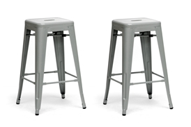 Baxton Studio French Industrial Modern Counter Stool in Gray (Set of 2) Baxton Studio French Industrial Modern Counter Stool in Gray, IEM-94115-26-silver-PSTL, compare Baxton Studio French Industrial Modern Counter Stool in Gray, best price on Baxton Studio French Industrial Modern Counter Stool in Gray, discount Baxton Studio French Industrial Modern Counter Stool in Gray, cheapBaxton Studio French Industrial Modern Counter Stool in Gray