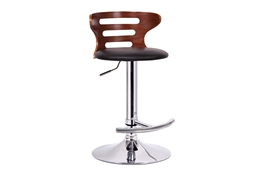 Baxton Studio Buell Walnut and Black Modern Bar Stool Buell Walnut and Black Modern Bar Stool,IESD-2019-walnut/black-PSTL,compare Buell Walnut and Black Modern Bar Stool,best price on Buell Walnut and Black Modern Bar Stool,discount  Buell Walnut and Black Modern Bar Stool,cheap  Buell Walnut and Black Modern Bar Stool