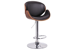 Baxton Studio Crocus Walnut and Black Modern Bar Stool Crocus Walnut and Black Modern Bar Stool,IESD-2203-walnut/black-PSTL,compare Crocus Walnut and Black Modern Bar Stool,best price on Crocus Walnut and Black Modern Bar Stool,discount  Crocus Walnut and Black Modern Bar Stool,cheap  Crocus Walnut and Black Modern Bar Stool