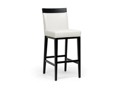 Baxton Studio Clymene Black Wood and Cream Leather Modern Bar Stool IEY-1013-DU8143, Baxton Studio Clymene Black Wood and Cream Leather Modern Bar Stoolcompare IEY-1013-DU8143, best price onIEY-1013-DU8143, discount IEY-1013-DU8143, cheap IEY-1013-DU8143