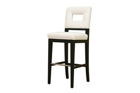Bianca White Leather Barstool Donna White Leather Bar Height Bar Stool 30, IEY-780-FU155, compare Donna White Leather Bar Height Bar Stool 30, best price on Donna White Leather Bar Height Bar Stool 30, discount Donna White Leather Bar Height Bar Stool 30, cheap Donna White Leather Bar Height Bar Stool 30
