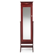 Baxton Studio Bimini Brown Finish Wood Crown Moulding Top Free Standing Full Length Cheval Mirror Jewelry Armoire Baxton Studio Bimini Brown Finish Wood Crown Moulding Top Free Standing Full Length Cheval Mirror Jewelry Armoire, wholesale furniture, restaurant furniture, hotel furniture, commercial furniture