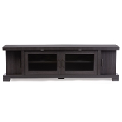 Baxton Studio Viveka 70-Inch Dark Brown Wood TV Cabinet with 2 Glass Doors and 2 Doors Baxton Studio Viveka 70-Inch Dark Brown Wood TV Cabinet with 2 Glass Doors and 2 Doors , wholesale furniture, restaurant furniture, hotel furniture, commercial furniture