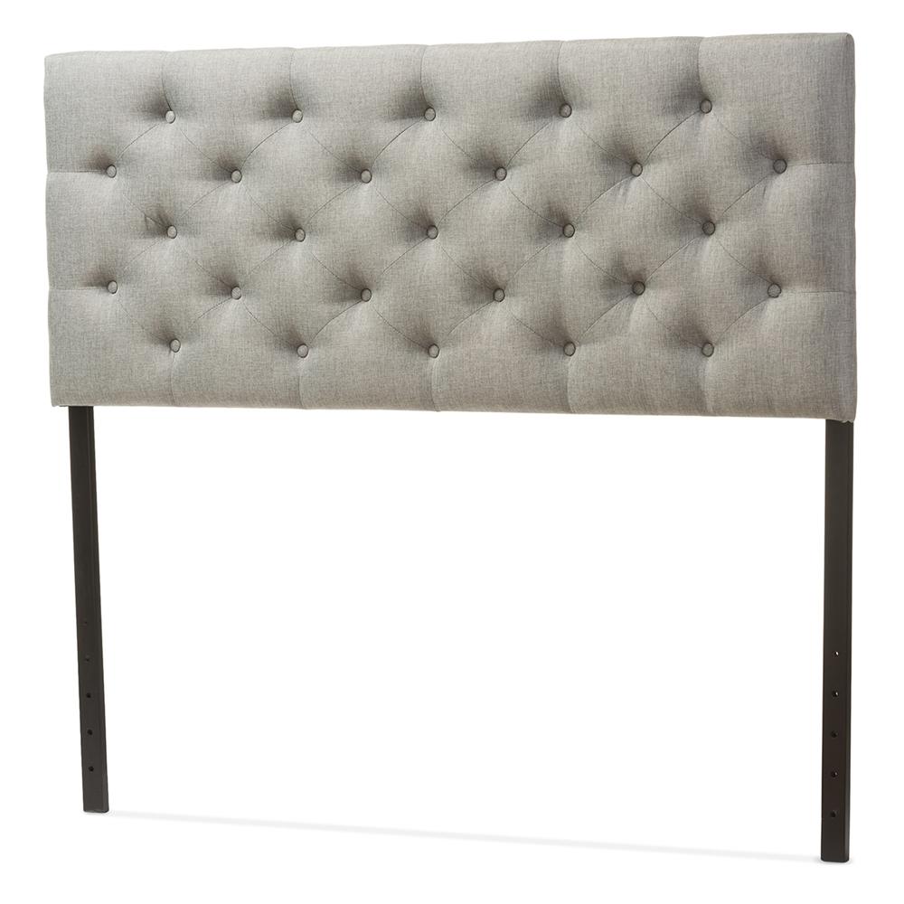 Baxton Studio Viviana Modern And Contemporary Grey Fabric