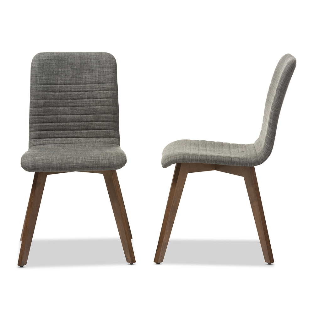 Baxton studio sugar mid century retro modern scandinavian for Retro modern dining chairs