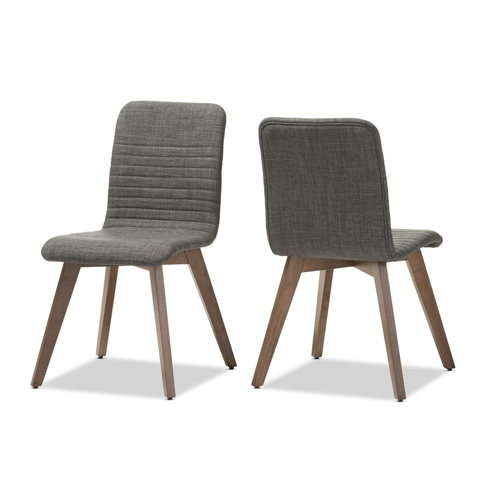 Baxton studio sugar mid century retro modern scandinavian for Modern style dining chairs