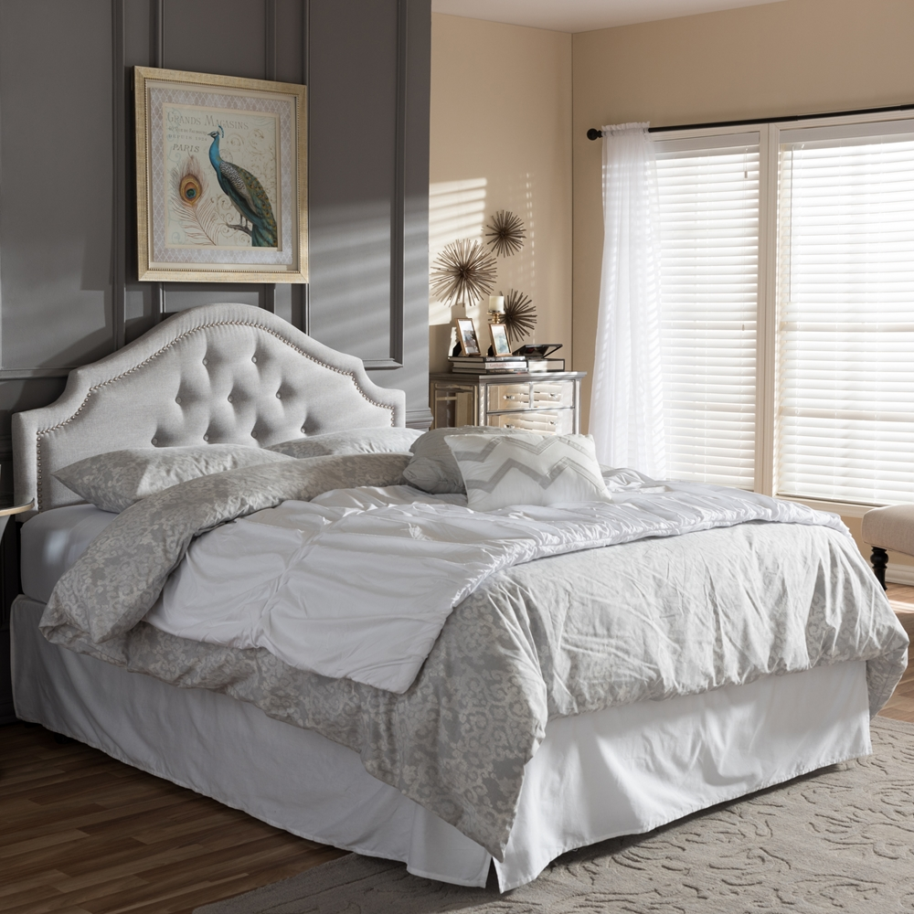 Baxton Studio Cora Modern And Contemporary Greyish Beige