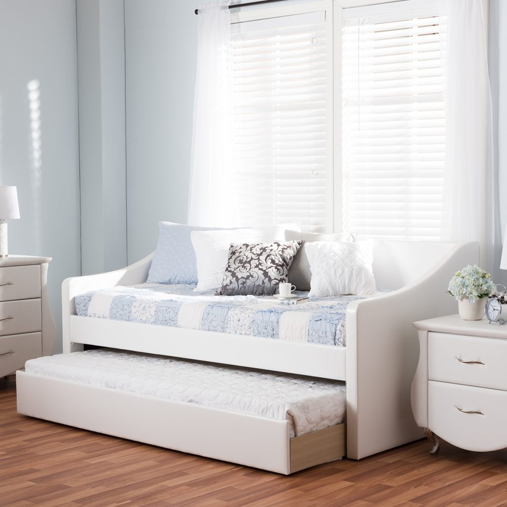 Baxton Studio Barnstorm Modern And Contemporary White Faux
