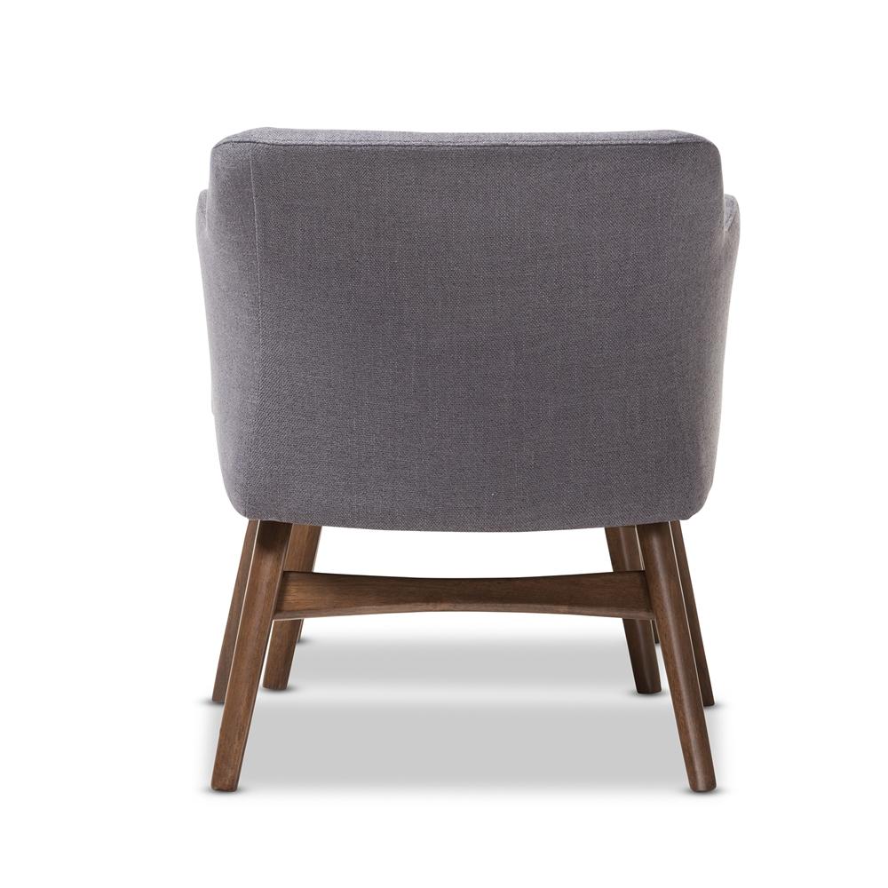 ... Baxton Studio Vera Mid-Century Modern Two-Tone Grey Fabric Lounge Chair  and Ottoman ... - Baxton Studio Vera Mid-Century Modern Two-Tone Grey Fabric Lounge