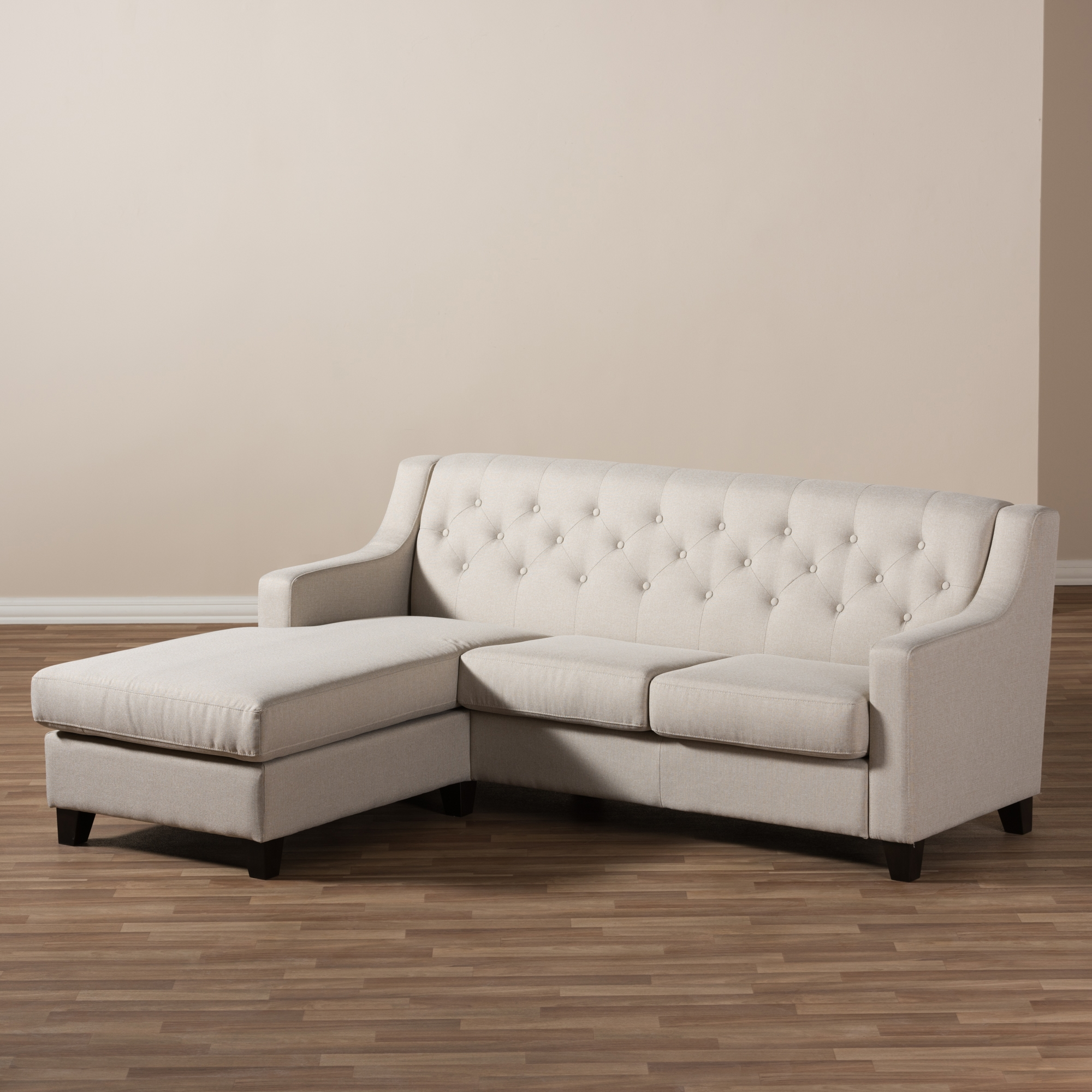 2 piece sectionals with chaise seriena 2 piece sectional for Ashley beige sofa chaise