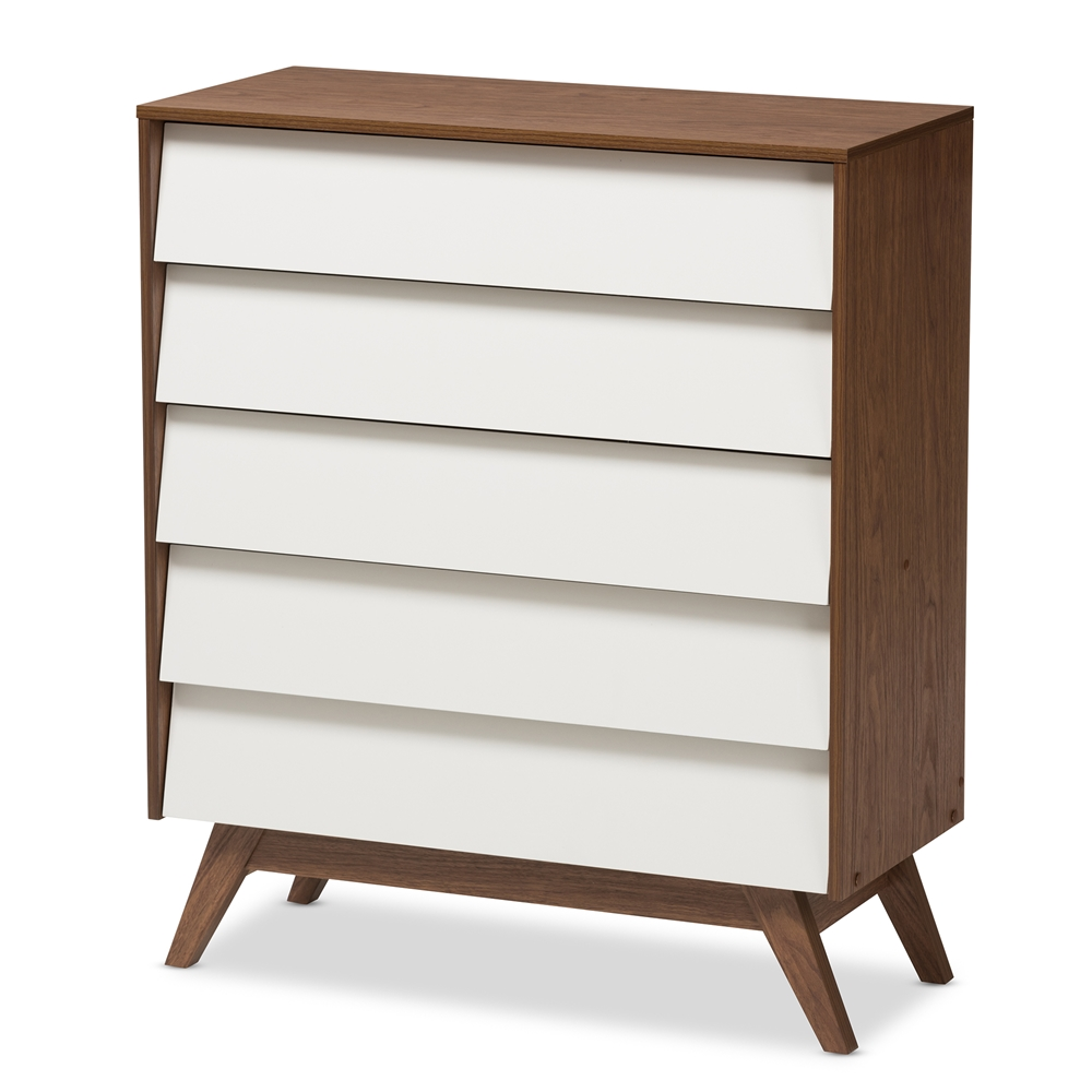 Mid Century Modern Louvered Drawer Dresser By Ward Furniture Epoch