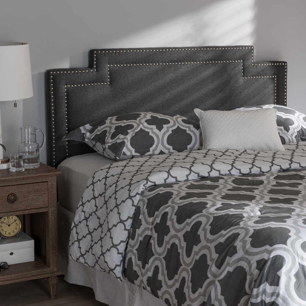 Baxton Studio Casey Modern And Contemporary Dark Grey