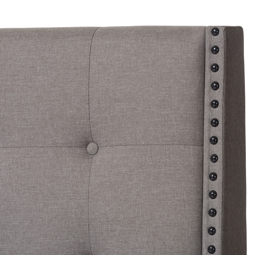 Baxton Studio Georgette Modern And Contemporary Light Grey