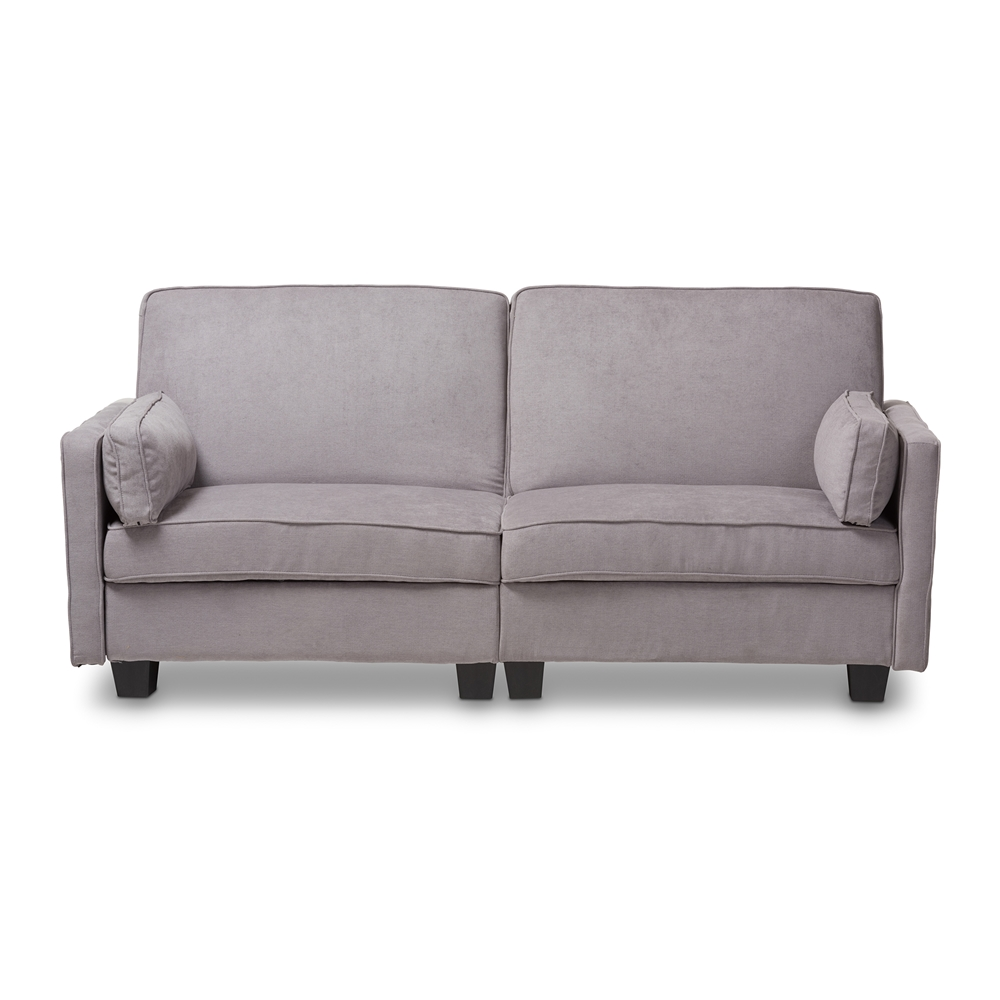 Baxton Studio Felicity Modern and Contemporary Light Gray Fabric ...