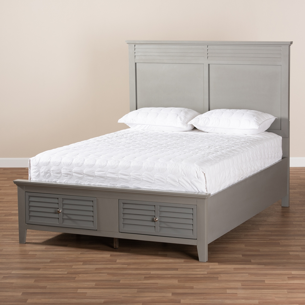 Baxton studio indira transitional grey finished wood 6 piece king size bedroom set for 6 piece king size bedroom sets