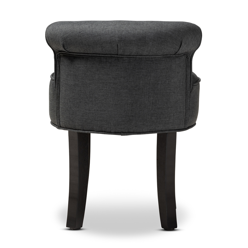Tremendous Baxton Studio Cerise Classic And Traditional Small Gray Fabric Upholstered Accent Chair Andrewgaddart Wooden Chair Designs For Living Room Andrewgaddartcom