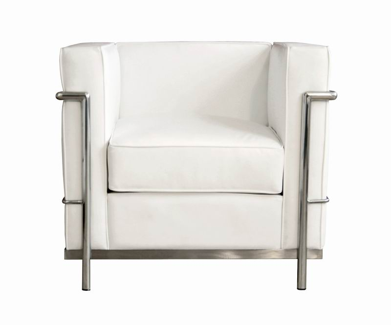 le corbusier petite chair in white