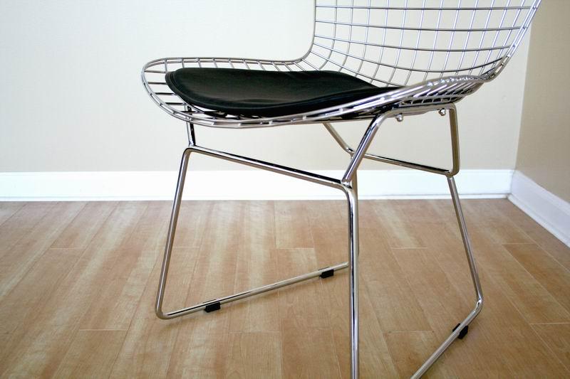 Bertoia Style Chair bertoia chair   bertoia side chair   interior express