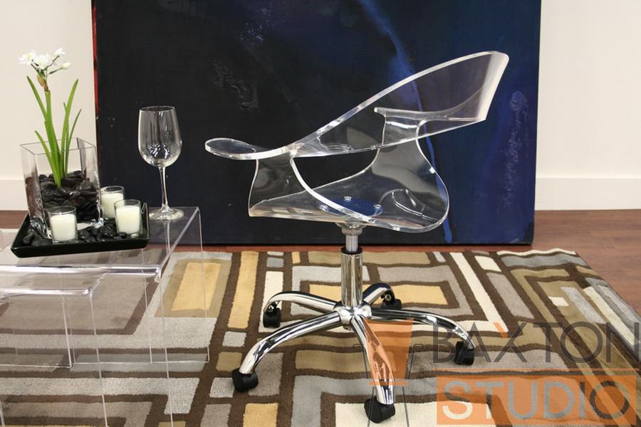 Super Elia Acrylic Swivel Office Chair Evergreenethics Interior Chair Design Evergreenethicsorg