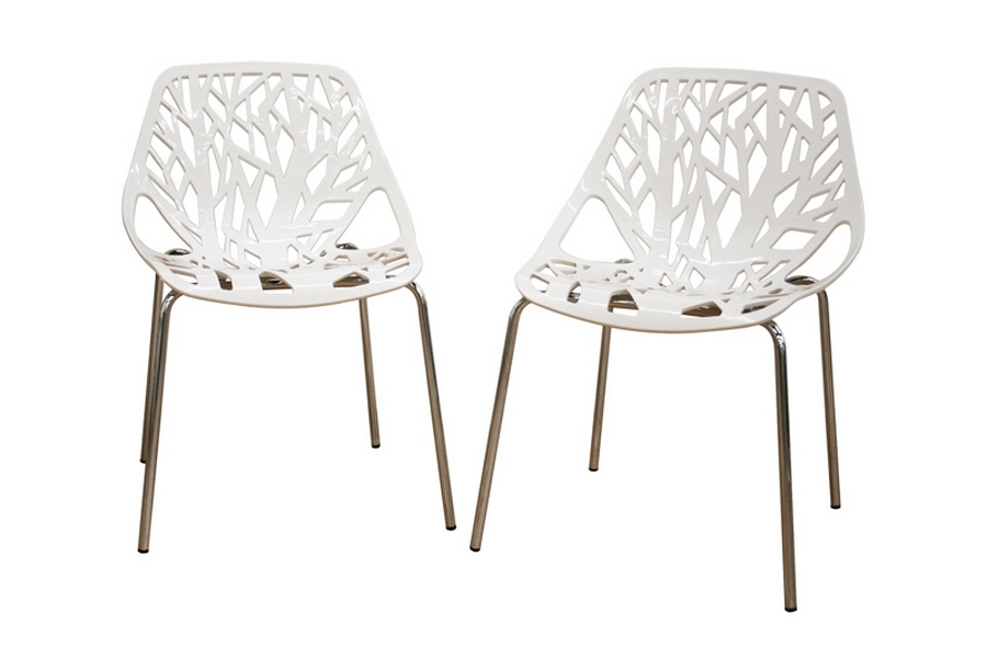 Birch Sapling White Plastic Accent / Dining Chair (Set of 2) Birch Sapling White Plastic Accent / Dining Chair (Set of 2), IEDC-451-White, compare Birch Sapling White Plastic Accent / Dining Chair (Set of 2), best price on Birch Sapling White Plastic Accent / Dining Chair (Set of 2), discount , cheap Birch Sapling White Plastic Accent / Dining Chair (Set of 2)