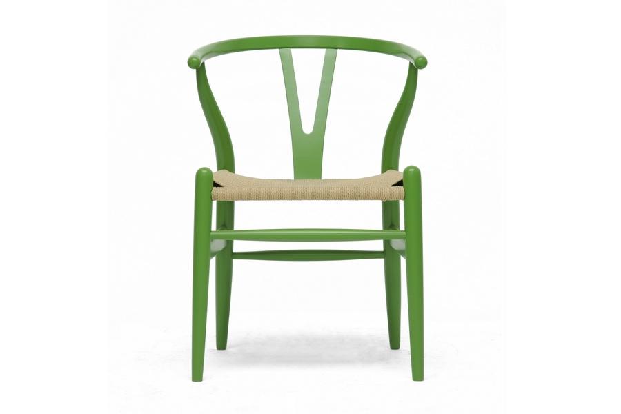 baxton studio midcentury modern wishbone chair green wood y chair iedc