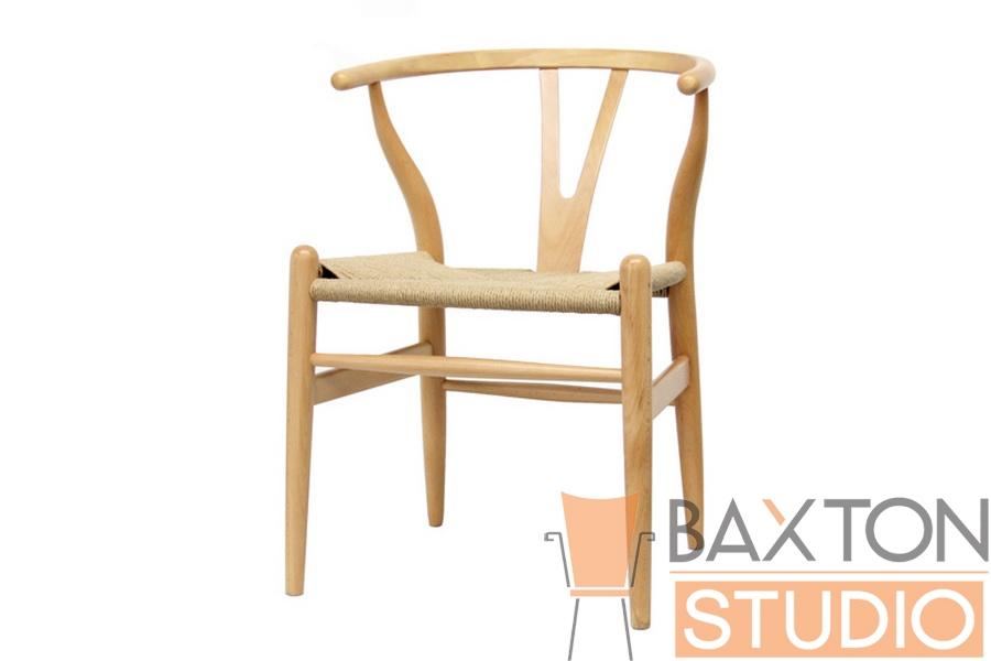 wishbone chair brown wood y chair - Wishbone Chair