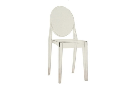 ghost chair clear acrylic stackable side chair