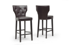 Baxton Studio Billings Dark Brown Modern Bar Stool (Set of 2) Baxton Studio Billings Dark Brown Modern Bar Stool (Set of 2), DO6005-brown-BS compare Baxton Studio Billings Dark Brown Modern Bar Stool (Set of 2), best price on Baxton Studio Billings Dark Brown Modern Bar Stool (Set of 2), discount Baxton Studio Billings Dark Brown Modern Bar Stool (Set of 2), cheap Baxton Studio Billings Dark Brown Modern Bar Stool (Set of 2)