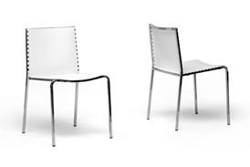 Gridley White Plastic Modern Dining Chair (Set of 2) Gridley White Plastic Modern Dining Chair (Set of 2), IEDC-12-white (2)compare Gridley White Plastic Modern Dining Chair (Set of 2), best price