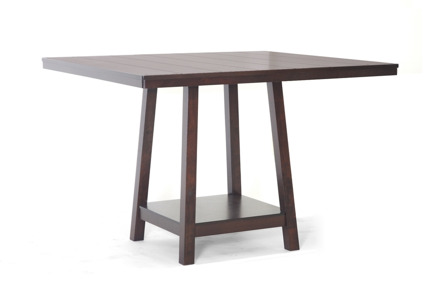 ... Baxton Studio Katelyn Modern Pub Table Set - 7 Piece Modern Dining Set - IEPCH 5050SQ ...  sc 1 st  Interior Express : modern pub table sets - pezcame.com