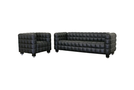 Arriga Black Leather Modern Sofa and Chair 2-Piece Set Arriga Black Leather Modern Sofa and Chair 2-Piece Set, IE0717-Sofa-Black-0717-Chair-Black Setcompare Arriga Black Leather Modern Sofa and Chair 2-Piece Set, best price onArriga Black Leather Modern Sofa and Chair 2-Piece Set, discount , cheap Arriga Black Leather Modern Sofa and Chair 2-Piece Set