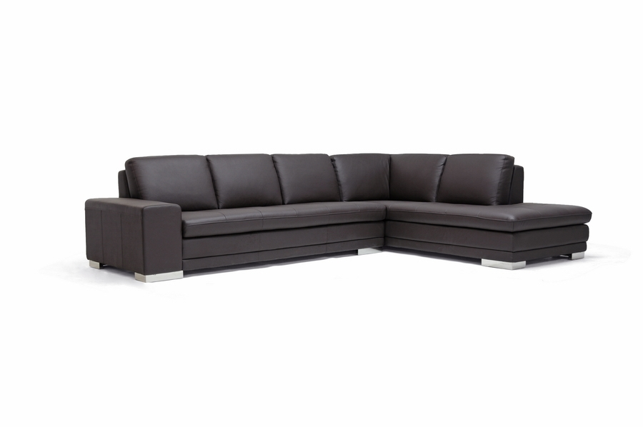 Callidora Dark Brown Leather-Leather Match Sofa Sectional - IE766-sofa/lying- ...  sc 1 st  Interior Express : dark brown leather sectional sofa - Sectionals, Sofas & Couches