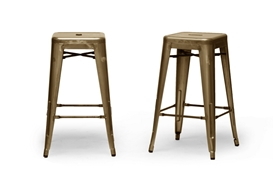 Baxton Studio French Industrial Modern Counter Stool in Bronze (Set of 2) Baxton Studio French Industrial Modern Counter Stool in Bronze (Set of 2), M-94115-26-Bronze-PSTL (2), compare Baxton Studio French Industrial Modern Counter Stool in Bronze (Set of 2), best price on Baxton Studio French Industrial Modern Counter Stool in Bronze (Set of 2), discount Baxton Studio French Industrial Modern Counter Stool in Bronze (Set of 2), cheap Baxton Studio French Industrial Modern Counter Stool in Bronze (Set of 2)