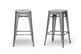 Baxton Studio French Industrial Modern Counter Stool in Gunmetal (Set of 2) Baxton Studio French Industrial Modern Counter Stool in Gunmetal (Set of 2), M-94115-26-Gun Metal-PSTL (2), compare Baxton Studio French Industrial Modern Counter Stool in Gunmetal (Set of 2), best price on Baxton Studio French Industrial Modern Counter Stool in Gunmetal (Set of 2), discount Baxton Studio French Industrial Modern Counter Stool in Gunmetal (Set of 2), cheap Baxton Studio French Industrial Modern Counter Stool in Gunmetal (Set of 2)