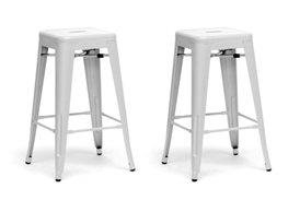 Baxton Studio French Industrial Modern Counter Stool in White (Set of 2) Baxton Studio French Industrial Modern Counter Stool in White (Set of 2), M-94115-26-White-PSTL (2), compare Baxton Studio French Industrial Modern Counter Stool in White (Set of 2), best price on Baxton Studio French Industrial Modern Counter Stool in White (Set of 2), discount Baxton Studio French Industrial Modern Counter Stool in White (Set of 2), cheap Baxton Studio French Industrial Modern Counter Stool in White (Set of 2)