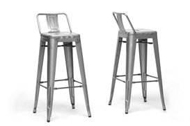 Baxton Studio French Industrial Modern Bar Stool in Gunmetal with Back Support (Set of 2) Baxton Studio French Industrial Modern Bar Stool in Gunmetal with Back Support (Set of 2), M-94115X-30-Gun Metal-PSTL (2), compare Baxton Studio French Industrial Modern Bar Stool in Gunmetal with Back Support (Set of 2), best price on Baxton Studio French Industrial Modern Bar Stool in Gunmetal with Back Support (Set of 2), discount Baxton Studio French Industrial Modern Bar Stool in Gunmetal with Back Support (Set of 2), cheap Baxton Studio French Industrial Modern Bar Stool in Gunmetal with Back Support (Set of 2)