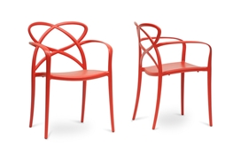 Baxton Studio Huxx Red Plastic Stackable Modern Dining Chair  (Set of 2) Baxton Studio Huxx Red Plastic Stackable Modern Dining Chair  (Set of 2), PP-S001-Red (2) compare Baxton Studio Huxx Red Plastic Stackable Modern Dining Chair  (Set of 2), best price on  Baxton Studio Huxx Red Plastic Stackable Modern Dining Chair  (Set of 2), discount Baxton Studio Huxx Red Plastic Stackable Modern Dining Chair  (Set of 2), cheap Baxton Studio Huxx Red Plastic Stackable Modern Dining Chair  (Set of 2)