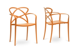 Baxton Studio Huxx Orange Plastic Stackable Modern Dining Chair (Set of 2) Baxton Studio Huxx Orange Plastic Stackable Modern Dining Chair (Set of 2), PP-S001-orange (2) compare Baxton Studio Huxx Orange Plastic Stackable Modern Dining Chair (Set of 2), best price on  Baxton Studio Huxx Orange Plastic Stackable Modern Dining Chair (Set of 2), discount Baxton Studio Huxx Orange Plastic Stackable Modern Dining Chair (Set of 2), cheap Baxton Studio Huxx Orange Plastic Stackable Modern Dining Chair (Set of 2)