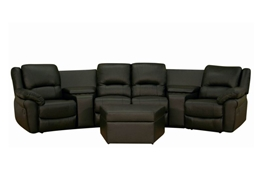 Home Theater Seating Set 8327 Sundance Black