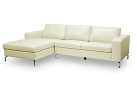Baxton Studio Lazenby Cream Leather Modern Sectional Sofa Baxton Studio Lazenby Cream Leather Modern Sectional Sofa, U1154S-Cream LFC compare Baxton Studio Lazenby Cream Leather Modern Sectional Sofa, best price on  Baxton Studio Lazenby Cream Leather Modern Sectional Sofa, discount Baxton Studio Lazenby Cream Leather Modern Sectional Sofa, cheap Baxton Studio Lazenby Cream Leather Modern Sectional Sofa