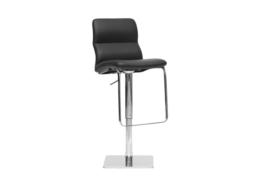 Baxton Studio Helsinki Black Modern Bar Stool Helsinki Black Modern Bar Stool, IEALC-2228-Black-BS, best price on Helsinki Black Modern Bar Stool, discount Helsinki Black Modern Bar Stool, cheap Helsinki Black Modern Bar Stool