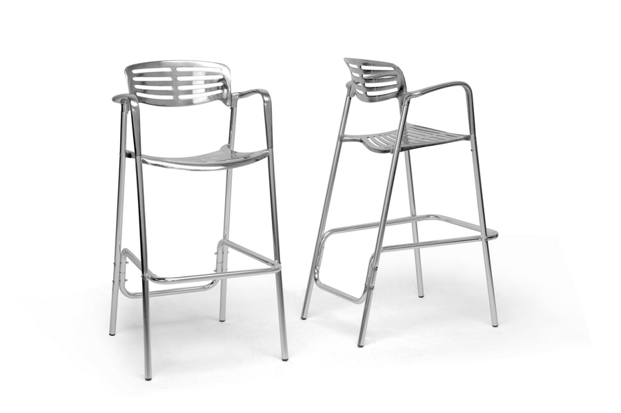 Baxton Studio Ethan Modern Aluminum Bar Stool (Set of 2) IE8119-BS (2), Baxton Studio Ethan Modern Aluminum Bar Stool (Set of 2)compare IE8119-BS (2), best price onIE8119-BS (2), discount IE8119-BS (2), cheap IE8119-BS (2)