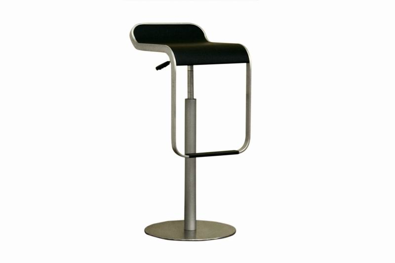 Equino LEM Black Bar Stool Set of 2