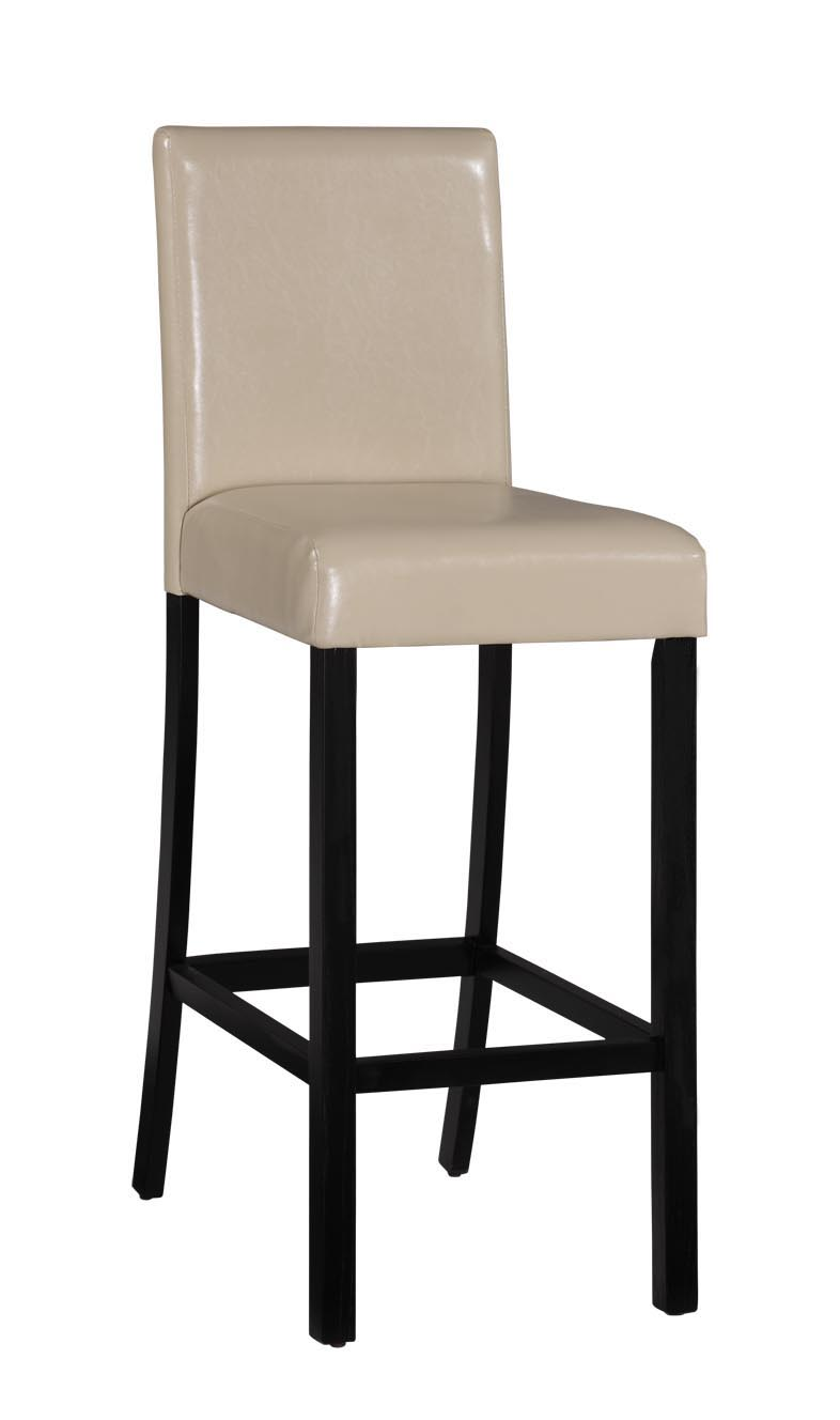 Baxton Studio Baxter Bar Stool in Cream Faux Leather -Set of 2  Baxter Bar Stool in Cream Faux Leather, IEODD01-BS-cream-2, compare Baxter Bar Stool in cream Faux Leather, best price on Baxter Cream Modern Bar Stool, discount Baxter Modern Bar Stool, cheap Baxter Cream Modern Bar Stool.